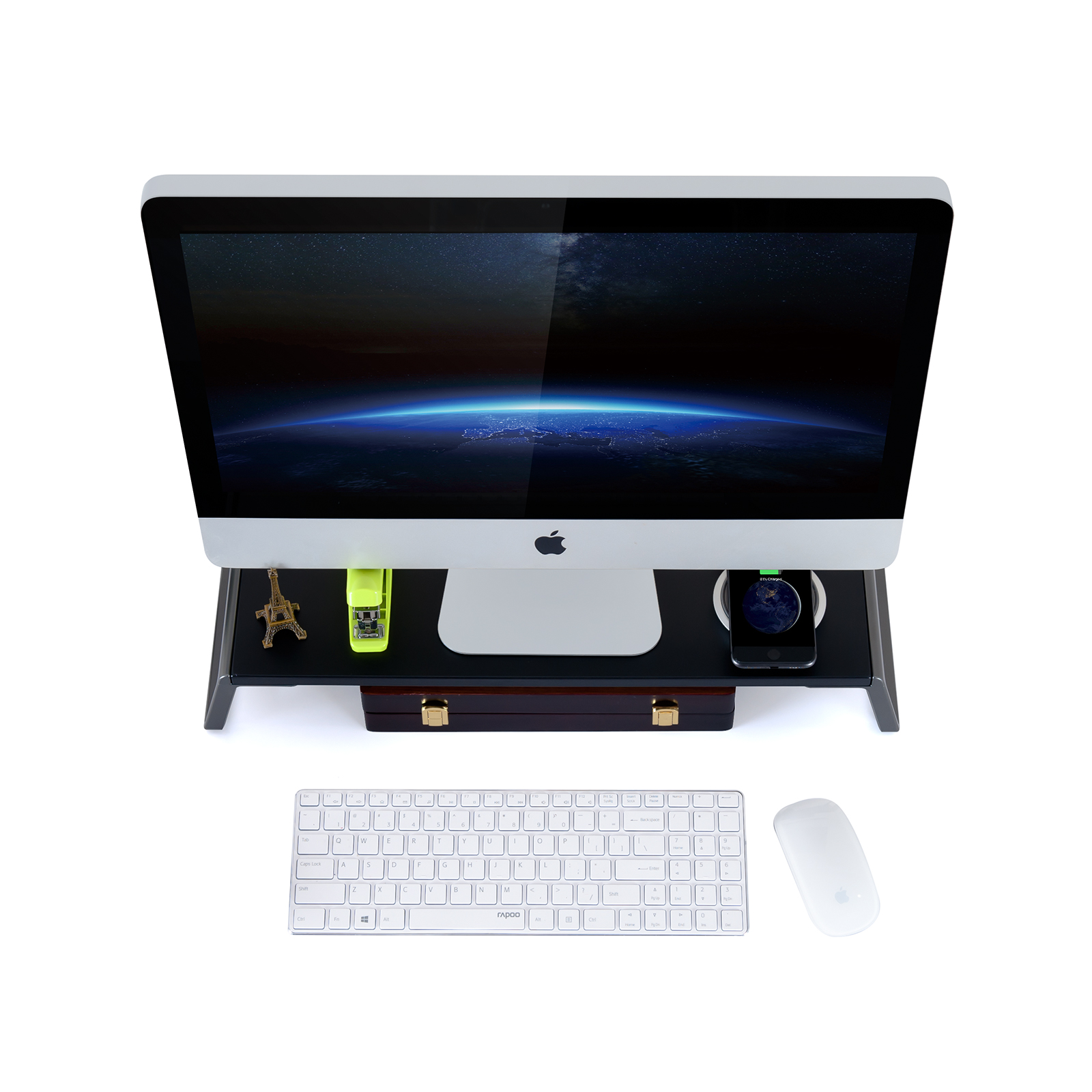 Monitor Stand Riser for Laptop iMac Computer (ID-20)